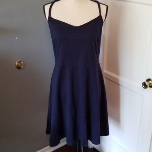 Old Navy fit and flare dress XL crossback